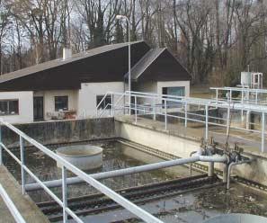 Umbau einer kommunalen Abwasserreinigungsanlage